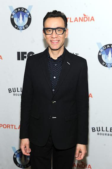 IMAGES DISTRIBUTED FOR IFC - Fred Armisen attends the Portlandia Season 4 Premiere Party on Thursday, February, 27, 2014 in New York. (Photo by Diane Bondareff/Invision for IFC/AP Images)