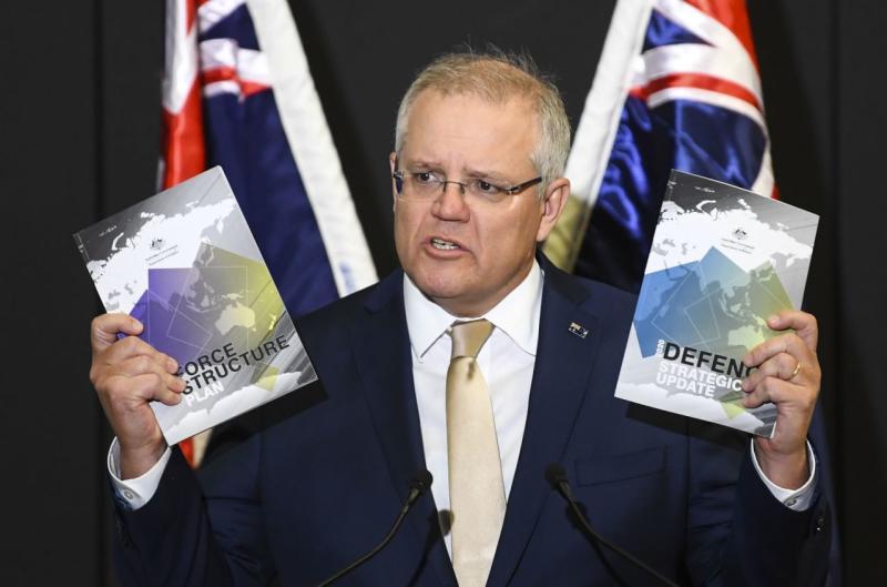 Australia rencanakan peningkatan pertahanan $190 miliar selama satu dekade