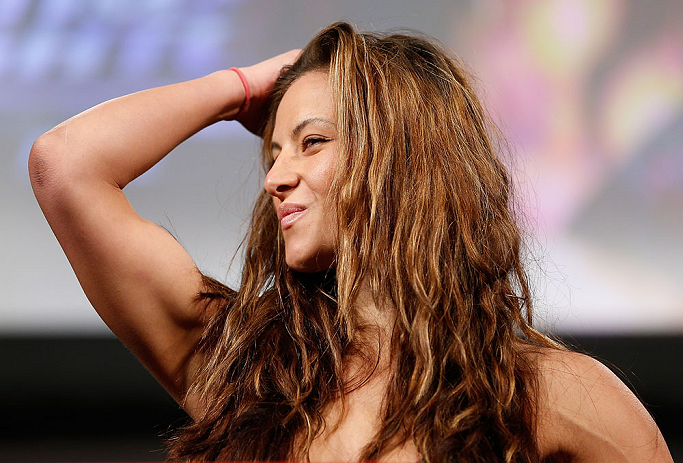 There's plenty left for Miesha Tate