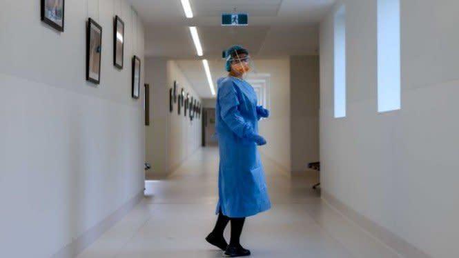 Para Tenaga Kesehatan Victoria Australia Kena COVID-19 di Tempat Kerja