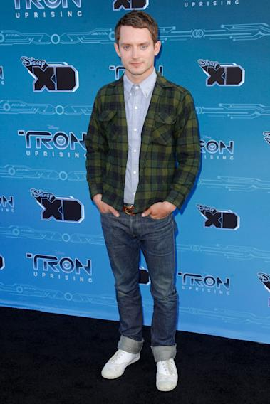 "Disney XD's ""TRON: Uprising"" Press Event - Elijah Wood"