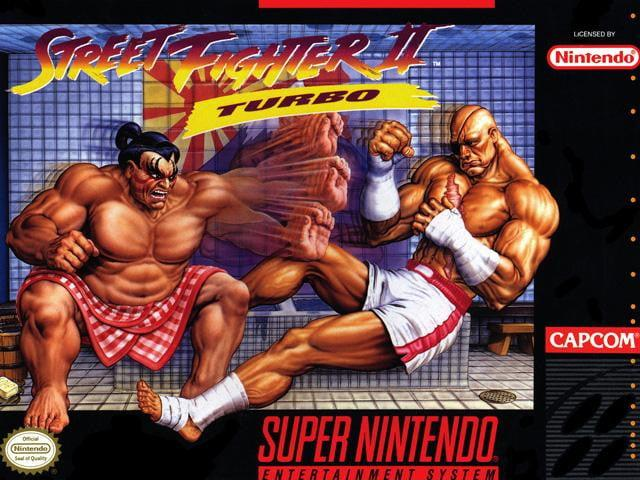 best snes games street fighter ii turbo