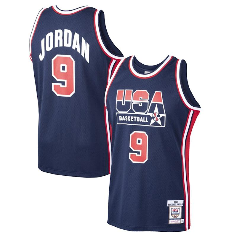 Michael Jordan USA Basketball Home 1992 Dream Team Authentic Jersey