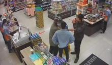 超商購物互看不爽 中年大叔持瑞士刀捅2男子逃逸