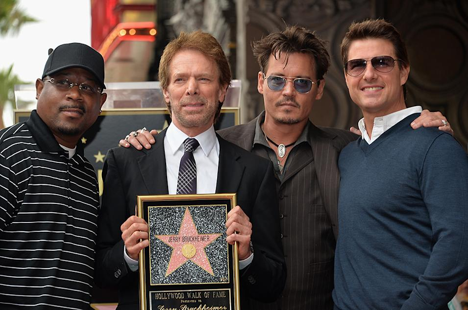 Legendary Producer Jerry Bruckheimer's Hollywood Walk of Fame Star Ceremony