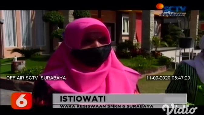 VIDEO: Sekolah Kejuruan di Surabaya Uji Coba Pembelajaran Tatap Muka