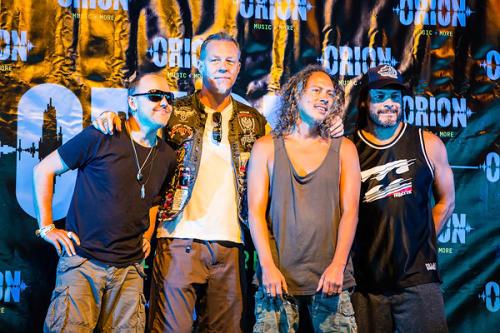 Metallica Feel Confident on Eve of Orion Festival