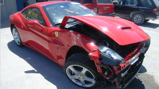 The top 10 most and least expensive cars to crash