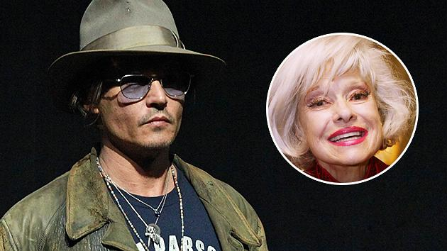 Johnny Depp: I Want to Play Carol Channing