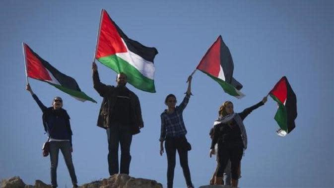 Ilustrasi Palestina (AP)