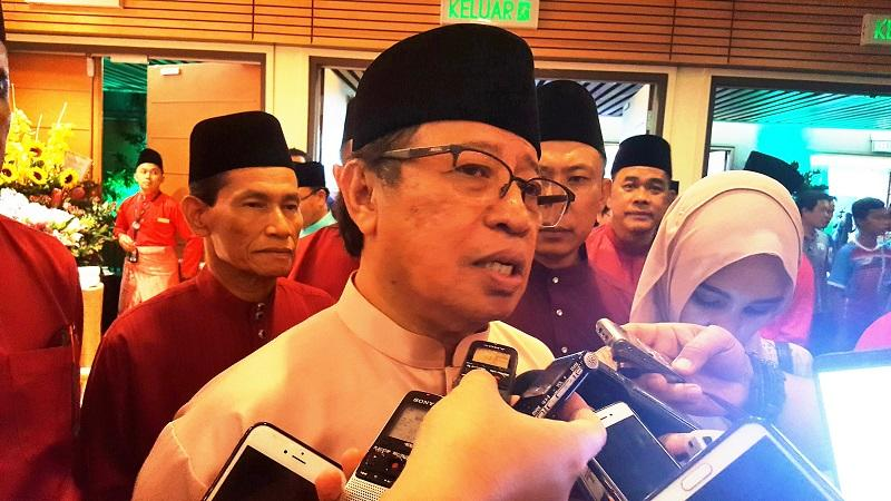 Sarawak Chief Minister Datuk Amar Abang Johari Openg said he believes that a strong economy is paramount to people's wellbeing. — Picture by Sulok Tawie