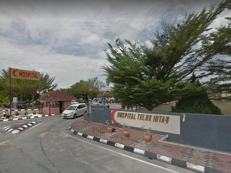 All seven cleaners who are working at Teluk Intan Hospital have either gone for or are waiting to undergo Covid-19 tests, their employer Edgenta UEMS Sdn Bhd said today. — Google Maps screenshot
