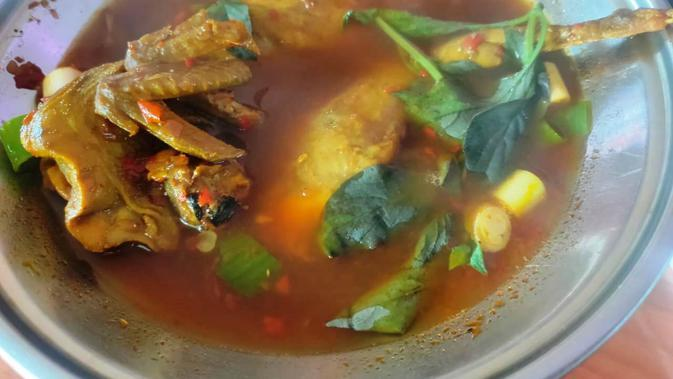 Pindang burung khas kuliner Sumsel (Liputan6.com / Nefri Inge)
