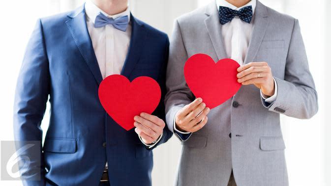 Ilustrasi Foto Gay atau Hubungan Laki Laki Sesama Jenis (iStockphoto)
