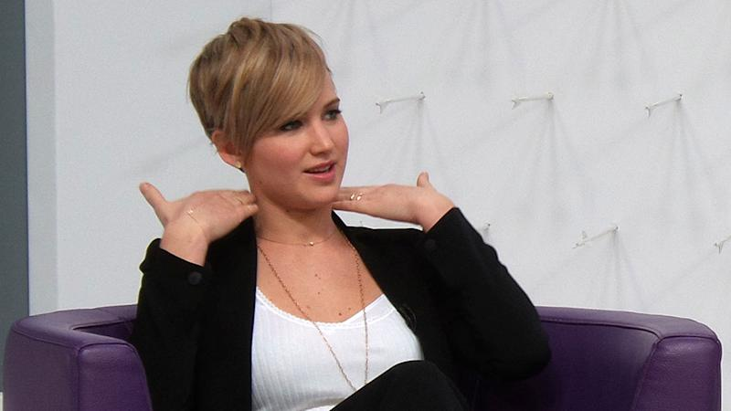 The Reason Why Jennifer Lawrence Cut Her 'Awkward, Gross' Hair