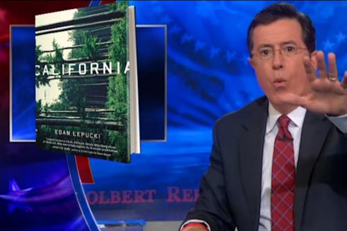 Stephen Colbert Tells Us What to Read Next to Stick it to Amazon (Video)