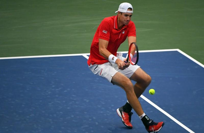 Tennis: It's nasty out there, but I like it, says Isner