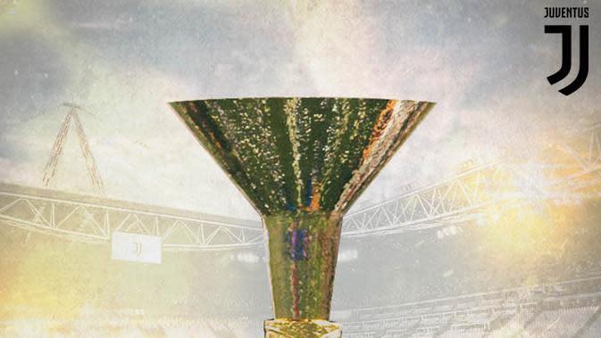 Juventus - Ilustrasi Piala Serie A (Bola.com/Adreanus Titus)