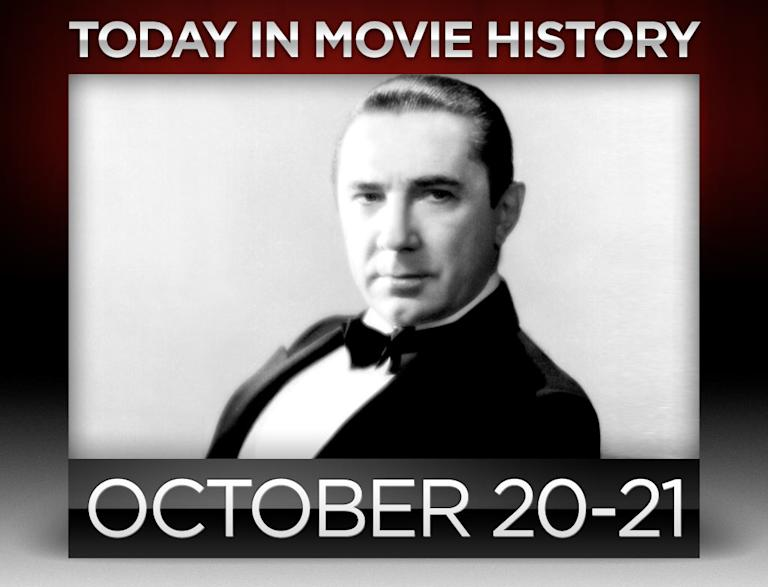today in movie history, october 20, october 21