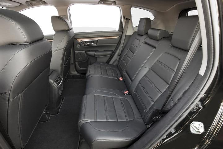 2020 Honda CR-V rear seats