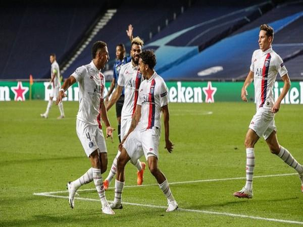 PSG secure 2-1 win over Atalanta to progress to Champions League semi-finals (Photo/ PSG Twitter)