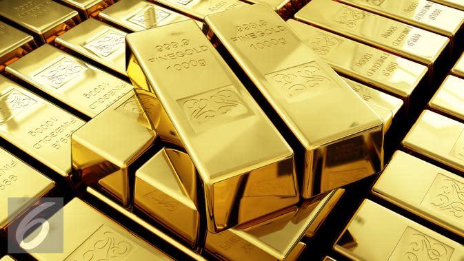 Ilustrasi Logam Mulia. Pelemahan harga emas ini hanya masalah teknis karena sudah mendekati level USD 2.000 per ounce. (iStockphoto)