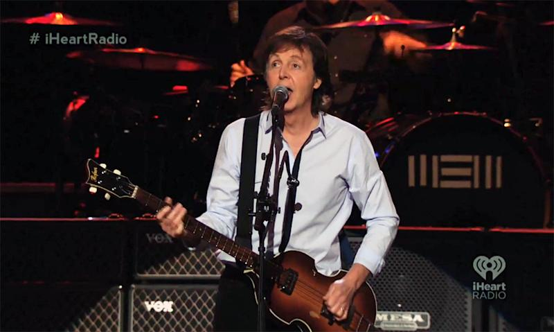 McCartney Serenades Wife, Plays 'New' Tunes at iHeartRadio Album Release Party