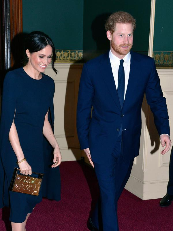 Pangeran Harry dan Meghan Markle tinggalkan Kerajaan Inggris. (John Stillwell/Pool via AP)