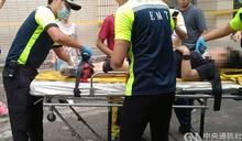基隆正濱國小資源回收室疑淘空 學童掉落7公尺坑洞意識不清