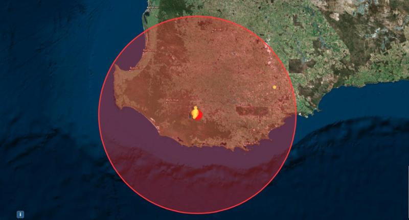 Western Australia earthquake: Magnitude 5.4 tremor struck Perth south west at Lake Muir.