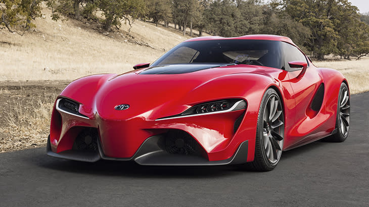 Toyota FT-1 sports concept wishes for more reality