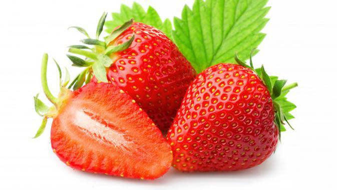 Ilustrasi Buah Strawberry Credit: pexels.com/pixabay