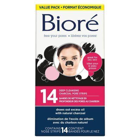 Bioré Deep Cleansing Charcoal Pore Stripes