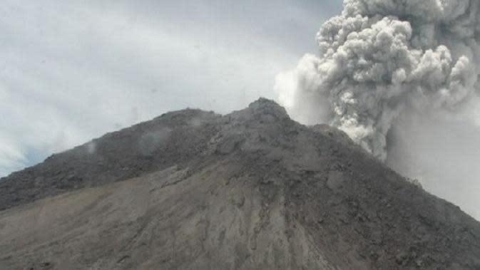 Gunung Merapi kembali Erupsi, Tinggi Letusan Mencapai 5 Ribu Meter