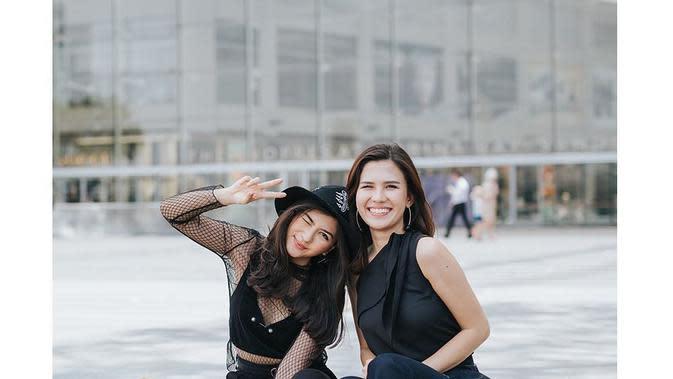 Potret Kompak Jessica Mila dan Michelle Joan. (Sumber: Instagram.com/jscmila)