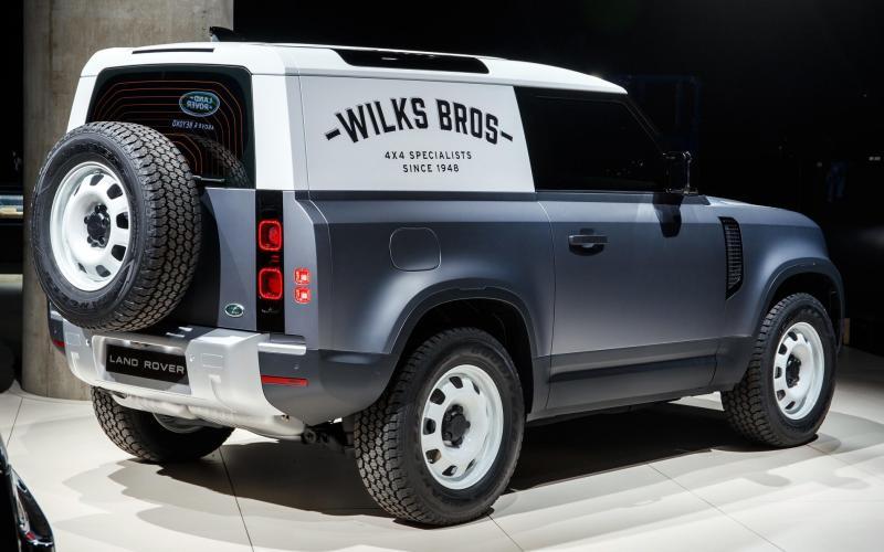 2020 Land Rover Defender Hard Top
