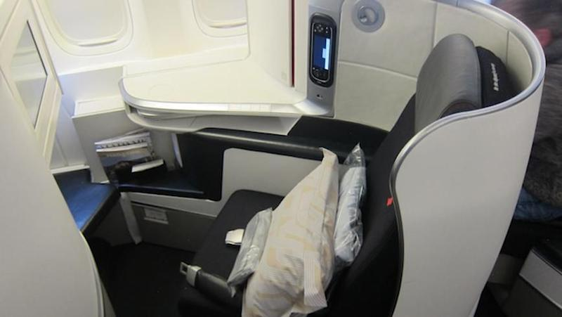 Flight Review Air France Business Cl