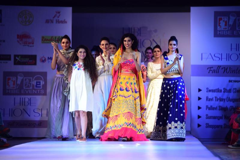 Swastika Stuti at her fashion show in Ranchi