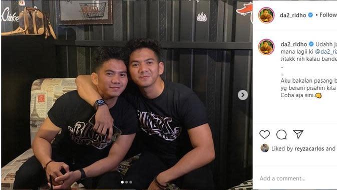 Rizki 2R dan Ridho 2R (Foto: Instagram/@da2_ridho)