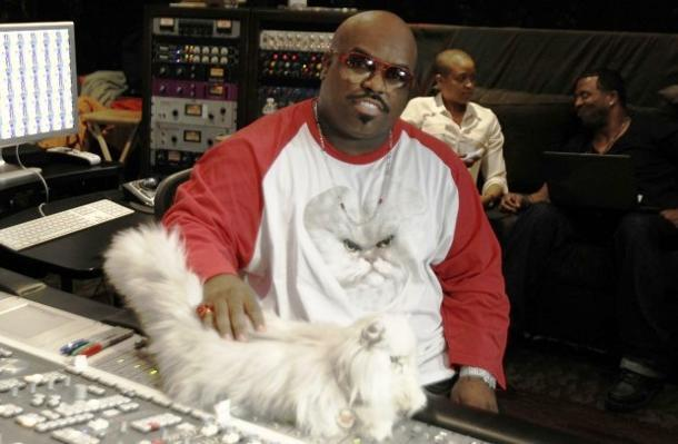 Paws Up! Cee Lo's Cat Purrfect Makes Her Musical Debut