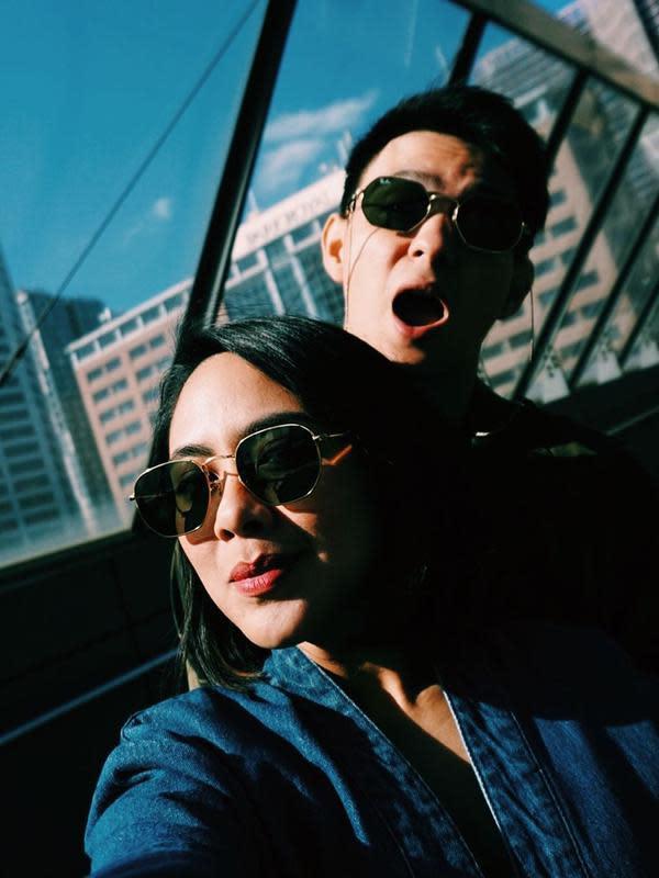 Kebersamaan Marcell dan Nabila Faisal. (Sumber: Instagram/@marcelldarwin)