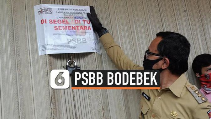 VIDEO: PSBB Bodebek Diperpanjang, Pekerja Harus Bawa Surat Bebas Covid-19