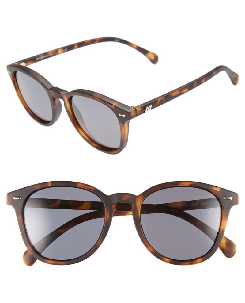 Le Specs 'Bandwagon' 51mm Polarized Sunglasses. Image via Nordstrom.