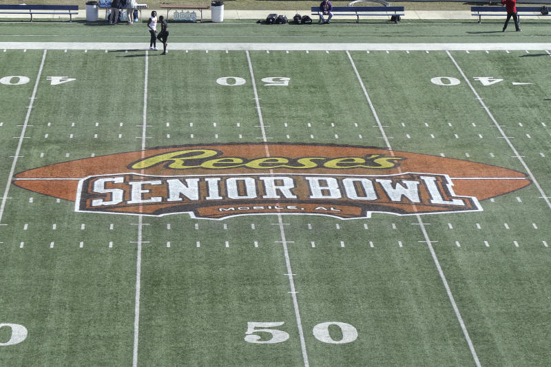 For the first time, there will be a female and former NFL player on the Senior Bowl's scouting staff. (Getty Images)