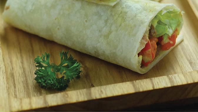 Beef Curry Yogurt Wrapping (Foto dokumen: Greenfields)