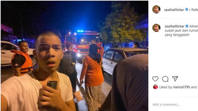 Adik Atta Halilintar, Saaih Halilintar (Foto: Instagram/@saaihalilintar)