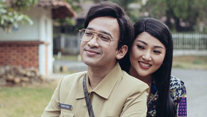 Ruben Onsu dan Sarwendah (Sumber: Instagram/sarwendah29