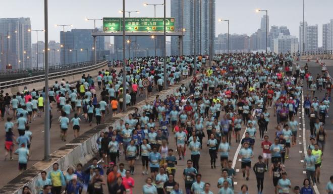 The Standard Chartered Hong Kong Marathon has been cancelled. Photo: Felix Wong