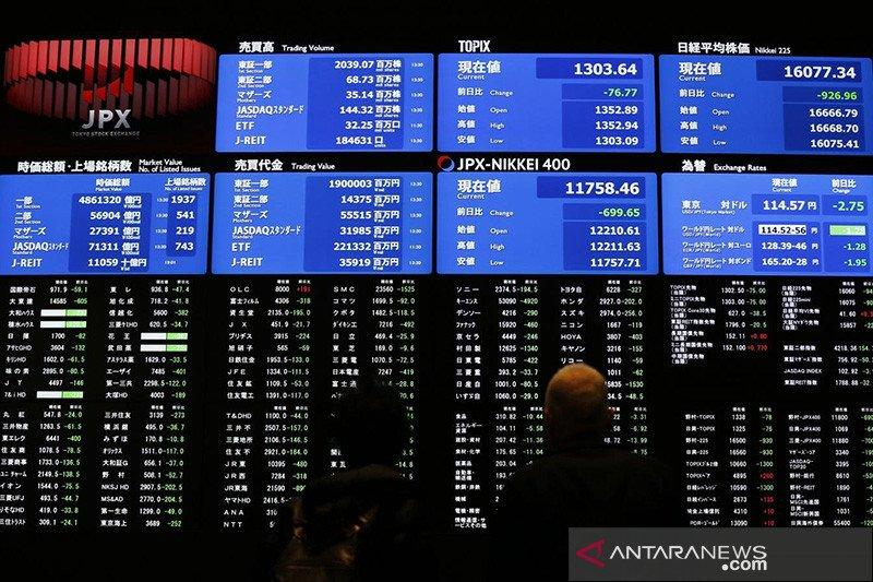 "Saham Tokyo bervariasi saat  Wall Street ""rebound"" dan imbas corona"