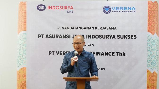 Direktur Utama Indosurya Life Lucky Siahaan. Dok